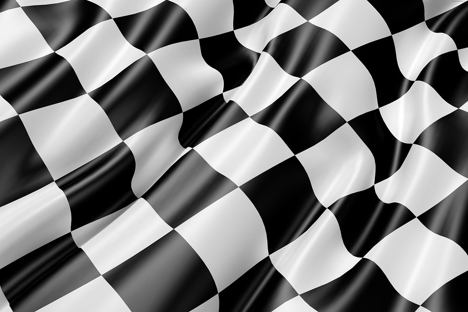 race track flag flag black and white - 4 Types of Bets in Motorsports You Need to Know About